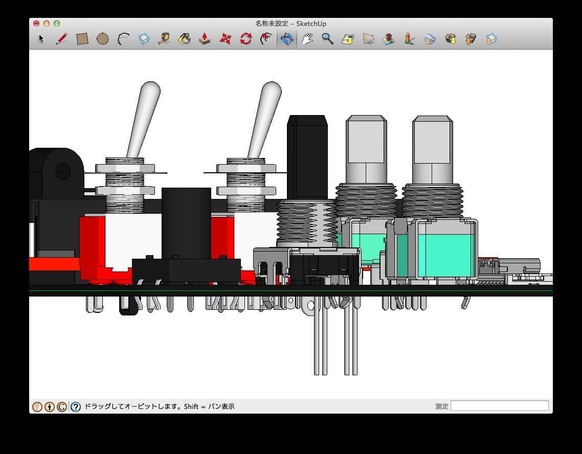 Sketchup Eagleup Interface Layerの3d部品まとめ2 Analogfeeder